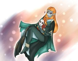 Fan art : True Form Midna X ShyFry by Mechamyu