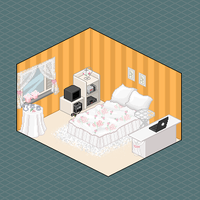 My pixel room . by Tpose
