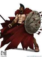 King Leonidas by squall95