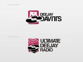 DJ Davitts Logo by r77adder
