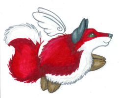 Soar -- GriffinBandida Giftart by WhiskerWing