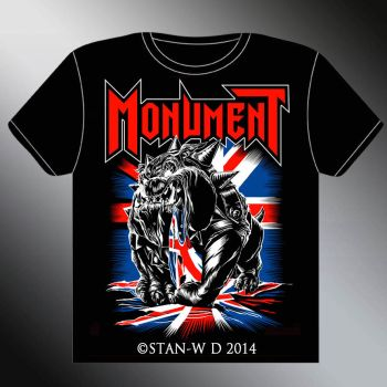 MONUMENT - T-Shirt design new album by stan-w-d
