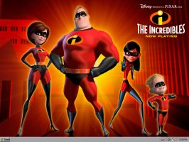 The Incredibles by ZiroNU