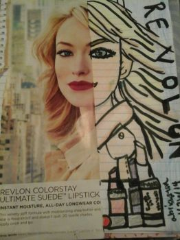 Olivia Wilde Half Drawing by abigailbriarton707