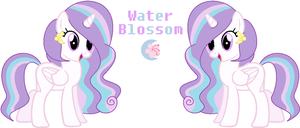WaterBlossom (Official Ref) by Sky-Winds
