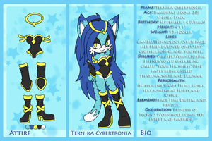 Teknika bio and ref by kakyuuspark