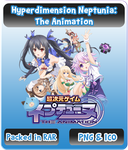 Hyperdimension Neptunia:The Animation - Anime Icon by Rizmannf