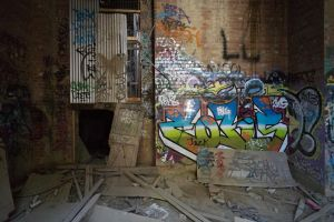 1308, Box Hill brickworks. by thespook