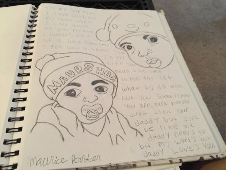 Had drew my son two different picture  by thugaboo1012