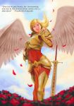 League of Legends Kayle Valentine fanart by ArtmanceR