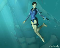 TR6 Wetsuit by LaraHCroft91