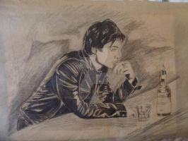 damon at the bar by h1artyness