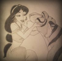 Jasmine and Rajah by sarka1