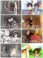 Avatar: The Last Airbender Friendships by Merpalercious