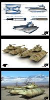Panther- Stealth Tank by Mr-Evin