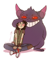 big gengar by Jackarais