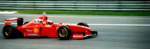 Michael Schumacher (Italy 1997) by F1-history