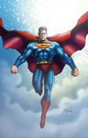 Superman Color - metcalf balke by JasonMetcalf