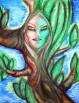 Tree lady by AniDandelion