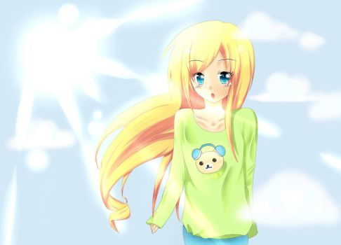 Out in the sunshine c: by ANiMEAddiCt4EVA
