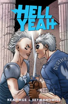 Hell Yeah issue 4 cover by astrobrain