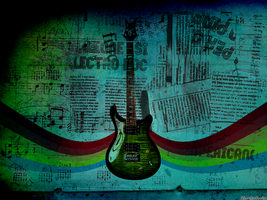 electric guitar wallpaper by TheNovacaine