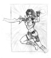 Lara croft - TRL action by Telisan