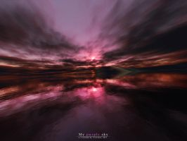 My purple sky by Wertonen