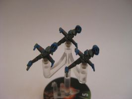 Star Wars Armada Custom - B-Wing Blue Squadron by sadowsk1