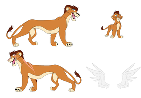 Max- Lion Form Ref by Amazing-Max