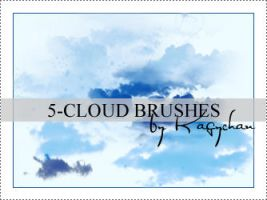 Cloud Brushes by Kagychan