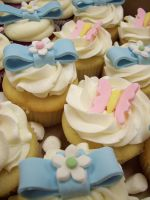 Easter Cupcakes by see-through-silence