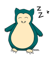 .:Hatchey:. - Point Commission ~ Snorlax by GloriousCraftsxoxo