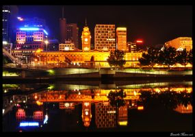 Flinders Station Reflections by DanielleMiner