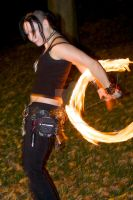 Leeah Firespinning by Envy-Graphix