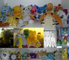 My Digimon and Pokemon collection by aishiteru420