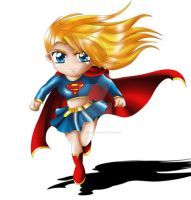 Supergirl Chibi by ExoroDesigns