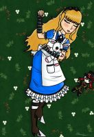 Sleeping Alice by The-MAD-Overlord