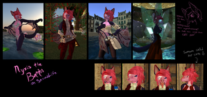 Nyxis on Second Life by Lyritwolf