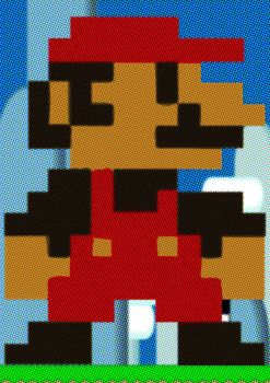 Super Mario Dots by superscabo