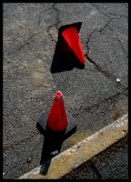 two cones by thelastring