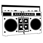 R.I.P. Radio Band Logo by dustintmoney
