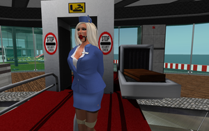 bondage airlines flight 123 ready for boarding by AnneDenise