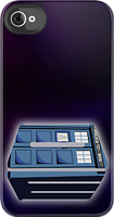 Doctor Who - Tardis Logo iPhone Case by drg