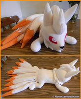 Ninetails Plush V2.0 by Allyson-x