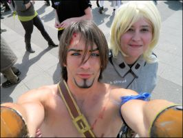 Prince of Persia and Anya by MJ-Cosplay