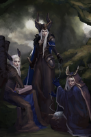 The Norns by Llyncis
