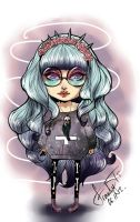 art challenge  - Pastel Goth Style by Franky-Tiem