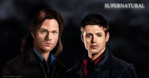 Supernatural Fan Art by lberry1976