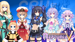 Neptunia V - Wallpaper 36 by karto1989